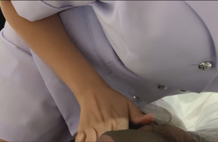 พยาบาลขี้เงี่ยน อมไป คุยไป ลิ้นไว ได้อารมร์มาก
